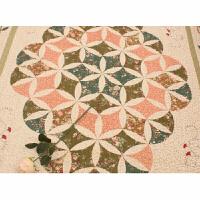 适用于韩式田园居家布艺加厚卧室客厅地垫地毯爬行垫沙发整体垫定制