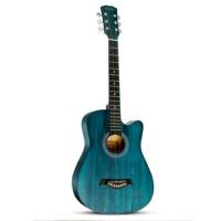初学者入门练习38寸复古吉它学生男女新手乐器41寸民谣木吉他