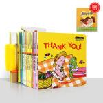 英文原版多多英语DDOLDDOLY English16-30册单词趣味书 幼儿英语启蒙亲子互动纸板书 支持小达人点读