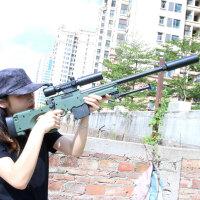 AWM巴雷特98k狙击抢可发射绝地拉栓*求生吃鸡儿童玩具枪