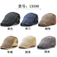 帽子男士鸭舌帽牛仔帽女秋冬画家帽前进帽春夏遮阳帽潮帽