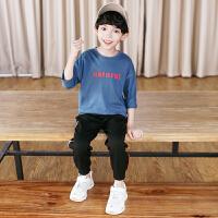 童装男童运动裤春装儿童裤子男孩长裤