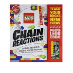 顺丰发货 英文原版进口 Klutz Lego Chain Reactions 乐高创造令人惊奇的可动机械 手工DIY玩