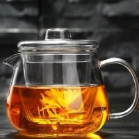 企鹅煮茶壶耐热玻璃茶具加厚过滤花茶壶可加热养生泡茶壶水杯杯子