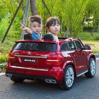 超大号双座儿童电动车四轮越野车宝宝汽车玩具车可坐人带遥控
