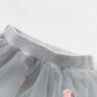 davebella戴维贝拉女童打底裤春新款儿童裤子宝宝裙裤DBZ13320