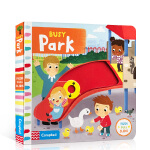 【发顺丰】英文进口原版Busy系列 Busy Park 忙碌的公园儿童启蒙纸板书机关书操作书 亲子互动边玩边学3-6岁