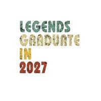 【预订】Legends graduate in 2027: Vintage Composition Notebook F