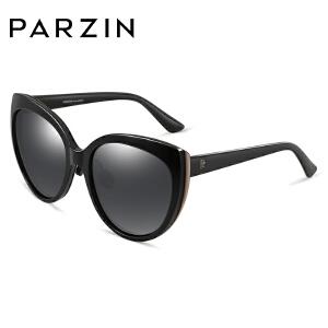 帕森偏光太阳眼镜女士复古猫眼大框潮流墨镜女司机驾驶镜9817