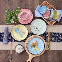 碗碟套装家用创意日式陶瓷碗单个餐具组合碗筷碗盘勺盘子碗米饭碗