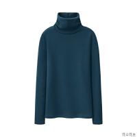 新款休闲女冬装高领加绒打底衫保暖上衣加厚长袖内搭T恤