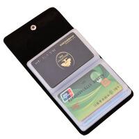 卡包男士多卡位名片夹牛皮小卡夹女式卡片包套真皮卡袋