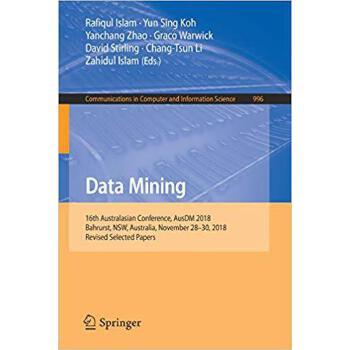 【预订】Data Mining 9789811366604 美国库房发货,通常付款后3-5周到货!