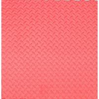 拼接泡沫地垫 儿童铺地板垫子加厚泡沫爬行垫60拼接塑料地毯拼图地垫卧室榻榻米 红色 30x30x2.5叶纹,40片