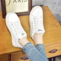 冬季加绒小白鞋女韩版百搭休闲鞋低帮板鞋保暖加棉平底学生运动