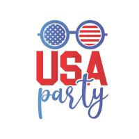【预订】USA Party: Funny 4th Of July Journal, Patriotic America