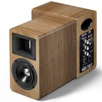 漫步者(EDIFIER)AIRPULSE A80 书架式有源音箱 蓝牙音箱 客厅音响 电视音响 木色