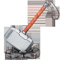 雷神之锤1:1 全金属电影复仇者联盟2托尔锤子模型礼物 4公斤雷神之锤