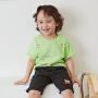 【4月10日0点开抢 4折价:40】迷你巴拉巴拉儿童宽松薄款短袖T恤夏新款男女童ip印花体恤衫
