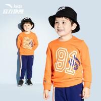 【101-130】安踏童装 男童装 小童针织运动套装 3-6岁幼儿园运动套装服 A35939771