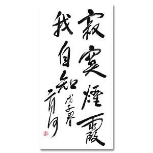 中国优秀作家 二月河《寂寞烟霞我自知》DW172