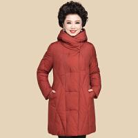 妈妈冬装棉衣中长款2018新款40岁50中年女棉袄外套中老年羽绒