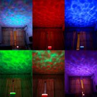 海洋投影海浪达人投影仪投影灯投影机海洋灯安睡灯星空浪漫旋转