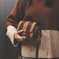 小包包女新款韩版波士顿手提包港风复古单肩斜挎包少女小挎包