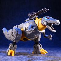 酷变宝KBB变形玩具金刚5拼装钢索霸王龙恐龙机器人男孩儿童模