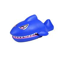 咬手指玩具特大号小心恶犬会咬人的鲨鱼整蛊搞怪儿童搞笑整人鳄鱼 玩具批发