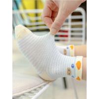 婴儿袜子夏季薄款春夏薄船袜童袜新生儿男童长筒夏袜女童宝宝儿童