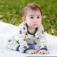 婴儿内衣套装春秋冬季保暖高腰护肚裤幼儿秋衣01岁宝宝家居服睡衣