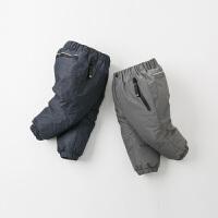 davebella戴维贝拉冬童装新款男童90绒保暖宝宝羽绒裤DB12371