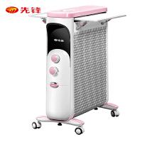 先锋(SINGFUN)取暖器 家用热浪油汀12片电暖气片DS1772 儿童母婴电暖器加热器 宝宝油汀
