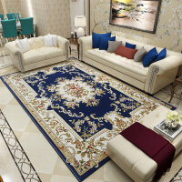 欧式地毯客厅沙发茶几毯卧室床边毯现代简约美式家用加厚垫子k 3.0x4.0米 15毫米厚 重43.2斤