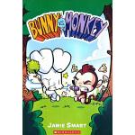 英文原版 Bunny vs. Monkey 1 兔子大战猴子 全彩漫画 猴子森林称王 幽默滑稽故事书 儿童课外读物