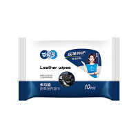 可爱多皮革滋养多功能湿巾10抽 便携装