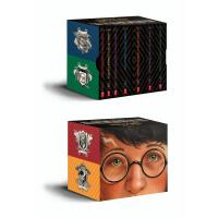 英文原版哈利波特 美版Harry Potter Books 1-7 Special Edition 20周年JK罗琳布
