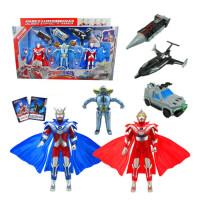 奥特曼玩具套装 迪迦赛罗奥特曼超人机器人模型儿童玩具
