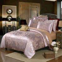 【新品上新】Toscaso1.8m床四件套 欧式典雅贡缎丝棉提花床上四件套 永恒佳人