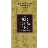 中国历代法书名碑原版放大折页系列:龙门二十品(上) 冯亚君 湖南美术出版社 9787535659040