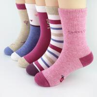 女童袜子秋冬儿童袜子女3-5-7-9岁中大童女孩棉袜秋中筒全棉
