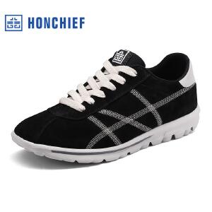 红蜻蜓旗下品牌  HONCHIEF  男鞋休闲鞋秋冬鞋子男板鞋KTA7210