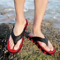 男士人字拖夏季户外凉拖防水拖鞋男速干夏天旅游沙滩鞋潮
