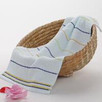 纯棉儿童毛巾 柔软肤不掉毛婴儿洗脸家用面巾1条洗脸帕