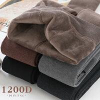 冬季加绒打底袜女秋冬款保暖加厚连裤袜奶咖咖啡浅棕色焦糖色丝袜