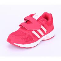 阿迪达斯(adidas)儿童鞋男女童运动鞋防滑休闲跑步鞋BY1713粉色