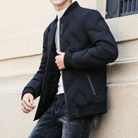 男士羽绒服冬季男装2019新款韩版潮流加厚短款白鸭绒外套潮牌冬装