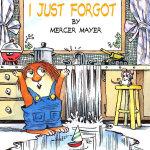 I Just Forgot (Little Critter) 忘事儿了 ISBN 9780307119759