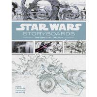 现货 Star Wars Storyboards 星球大战前传三部曲电影分镜手稿